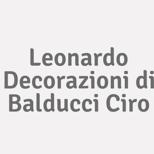 Leonardo Decorazioni di Balducci Ciro