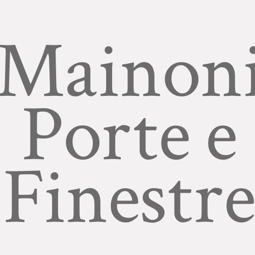 Mainoni Porte E Finestre