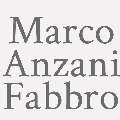 Marco Anzani Fabbro