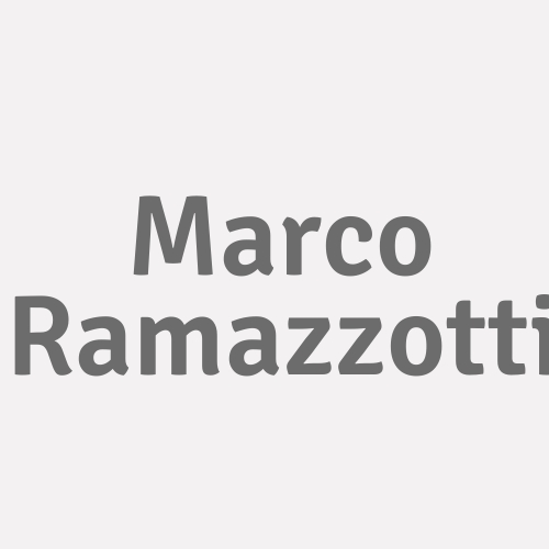 Marco Ramazzotti