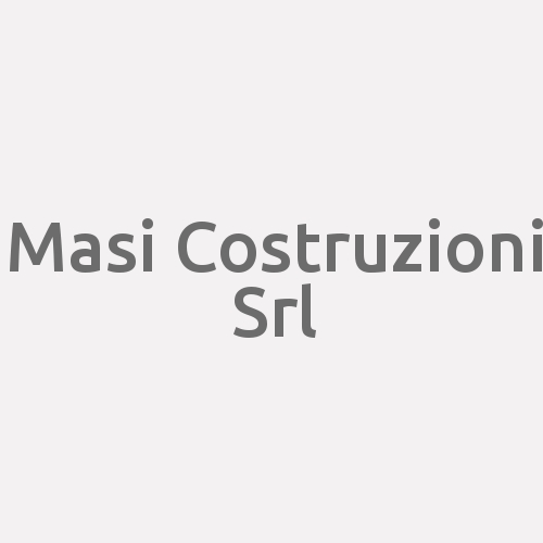 Masi Costruzioni Srl
