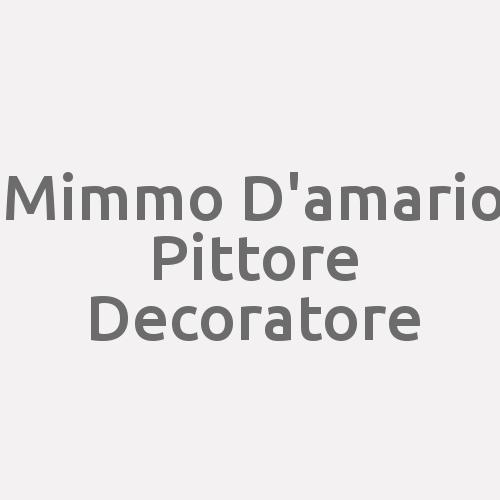 Mimmo D'amario Pittore Decoratore