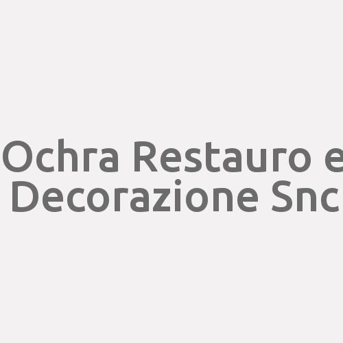 Ochra Restauro E Decorazione Snc