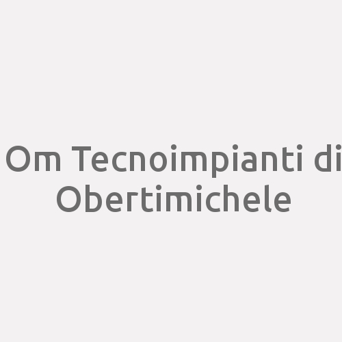 Om Tecnoimpianti Di Obertimichele