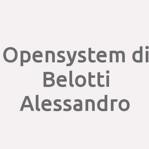 Opensystem Di Belotti Alessandro