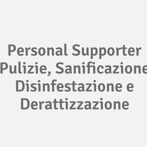 Personal Supporter Pulizie, Sanificazione Disinfestazione E Derattizzazione