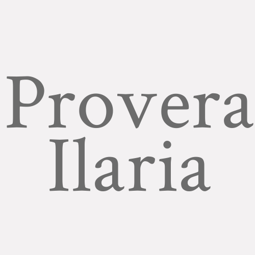 Provera Ilaria