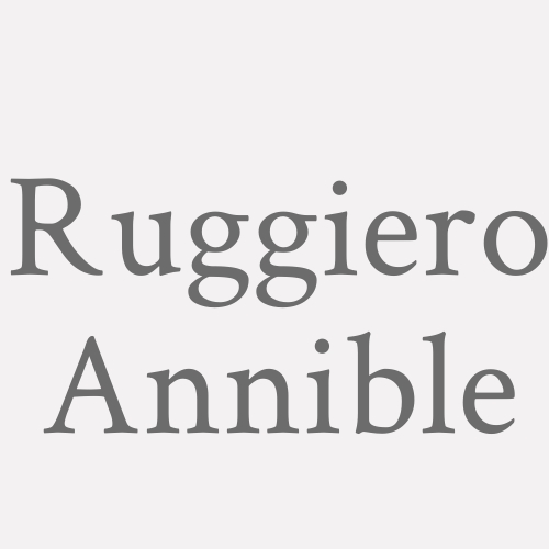 Ruggiero Annible