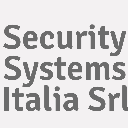 Security Systems Italia Srl