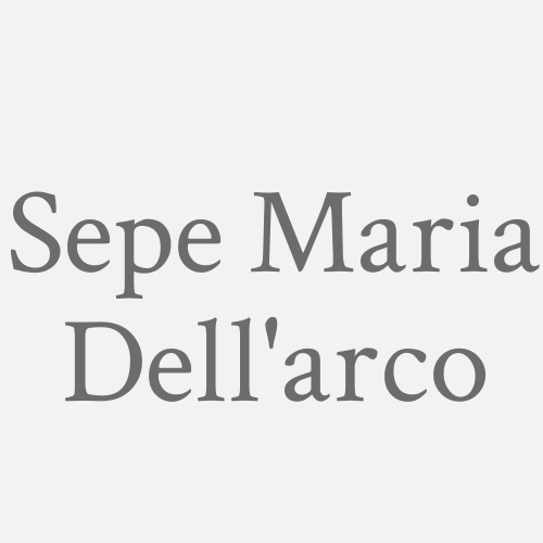 Sepe Maria Dell'arco