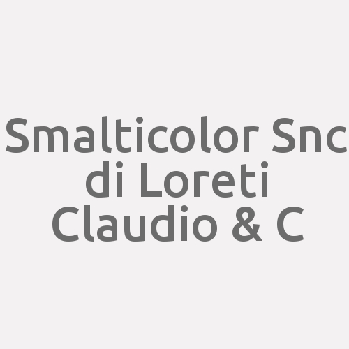 Smalticolor Snc Di Loreti Claudio & C.