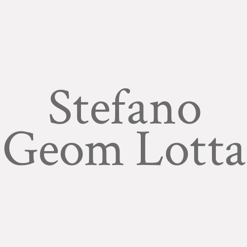 Stefano Geom. Lotta