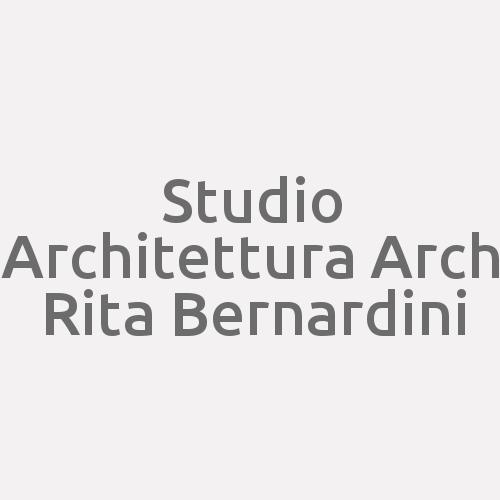 Studio Architettura Arch Rita Bernardini
