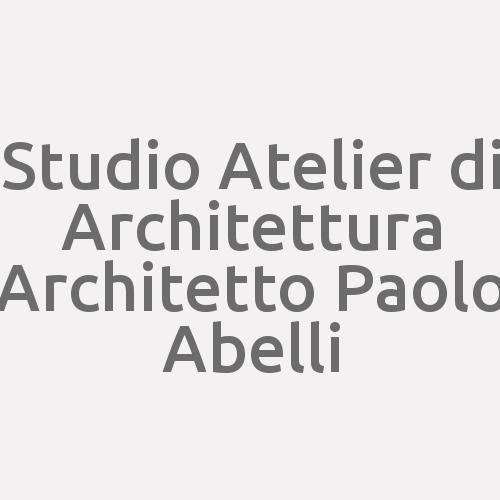 Studio Atelier Di Architettura Architetto Paolo Abelli