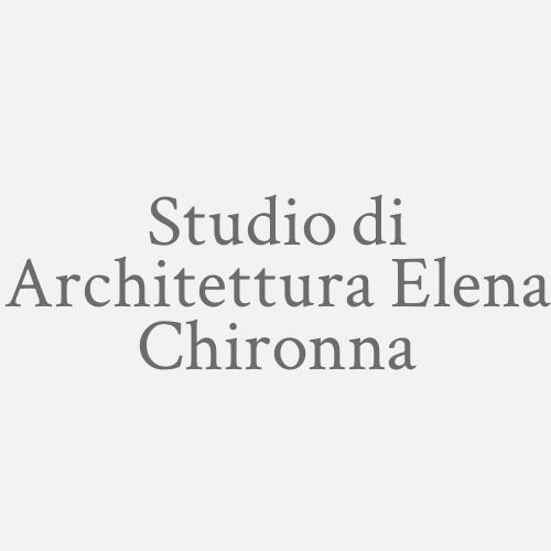 Studio Di Architettura Elena Chironna