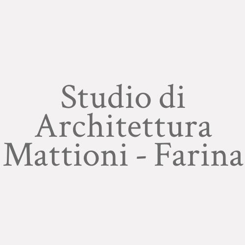 Studio di Architettura Mattioni - Farina
