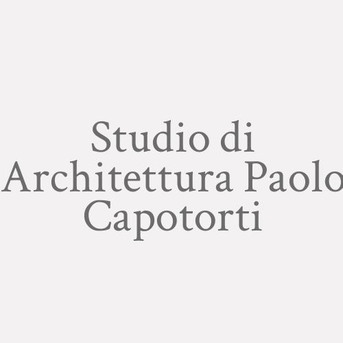 Studio Di Architettura Paolo Capotorti