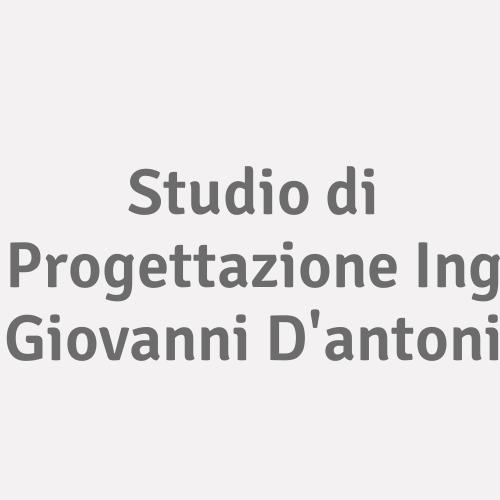 Studio di Progettazione Ing Giovanni D'antoni