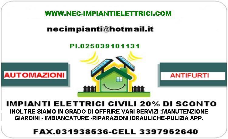 N.e.c.impianti Elettrici