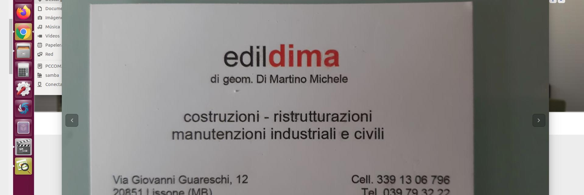 Edil Dima geometra Michele Di Martino