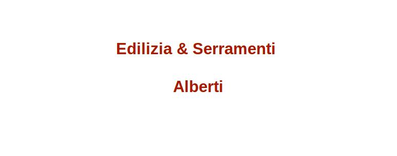 Edilizia & Serramenti Alberti