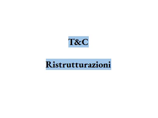 T&C Ristrutturazioni