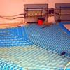 Impianto di riscaldamento a pavimento ed impianti sanitari