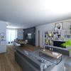 Progettazione Zona Living Appartamento nuovo