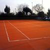 Rifacimento campi da tennis in terra rossa sintetica su vecchia superficie in pozzolana
