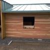 Costruzione casetta in legno al posto di un magazzino