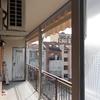 Chiusura balcone per l'inverno