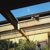 Sabbiare pareti soffitti e travi in legno in un rustico di circa 100mq.
