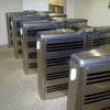 Controllo livello d'agenti inquinanti all'interno dovuti o all'impianto-di riscaldamento
