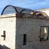 Pensilia in alluminio e copertura trasparente