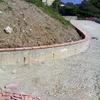 Muro perimetrale cemento