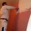 Pitturazione stucco spatolato vene