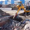 Foto: Demolizio per posa in opera di una nuova fossa biologica