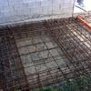 Costruzione muro di contenimento e realizzazione platea di 130 mq