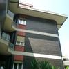 Pittura facciata edificio condominiale