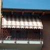 Tenda di chiusura veranda trasparente avvolgibile a venezia