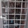 Insonorizzare portafinestra in legno douglas con vetri doppi