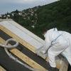 Foto: Isolamento sopra tetto canadese