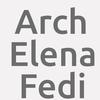 Arch. Elena Fedi