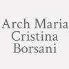 Arch. Maria Cristina Borsani