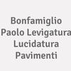 BONFAMIGLIO PAOLO Levigatura lucidatura pavimenti