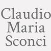 Claudio Maria Sconci