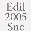 Edil 2005 Snc