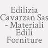 Edilizia Cavarzan Sas - Materiali Edili Forniture
