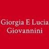 Giorgia E Lucia Giovannini