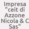 """Impresa """"c.e.i.t. Di Azzone Nicola & C. S.a.s."""""""